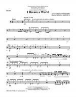 I Dream A World (from Trilogy Of Dreams) - Drums Sheet Music