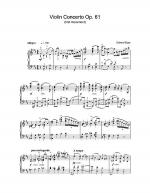 Violin Concerto Op.61 (first movement) Sheet Music