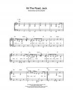 Hit The Road Jack Sheet Music
