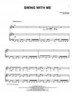Swing With Me Sheet Music