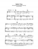 Nothin' Else Sheet Music