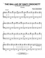 The Ballad Of Davy Crockett Sheet Music