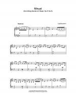 Minuet (from String Quartet in E Major, Op.11 No.5) Sheet Music