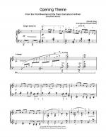 Opening Theme from Piano Concerto in A Minor Sheet Music