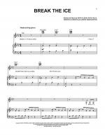 Break The Ice Sheet Music