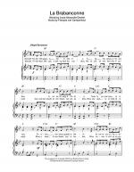 La Brabanconne (Belgian National Anthem) Sheet Music