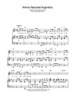 Himno Nacional Argentino (Argentinian National Anthem) Sheet Music