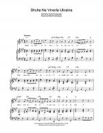 Shche Ne Vmerla Ukraina (Ukrainian National Anthem) Sheet Music