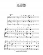 Ja, Vi Elsker (Norwegian National Anthem) Sheet Music