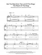 Into The West (from 'The Lord Of The Rings: The Return Of The King') Sheet Music