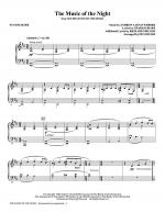 The Music Of The Night (from The Phantom Of The Opera) - Synthesizer Sheet Music