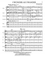 I Wonder As I Wander - Full Score Sheet Music