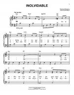 Inolvidable Sheet Music