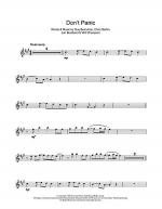 Don't Panic Sheet Music