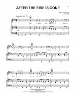After The Fire Is Gone Sheet Music