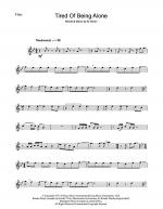 Tired Of Being Alone Sheet Music
