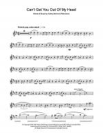 Can't Get You Out Of My Head Sheet Music