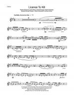 Licence To Kill Sheet Music