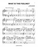What Is This Feeling? Sheet Music