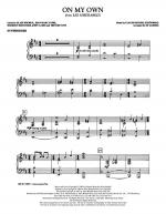 On My Own - Synthesizer Sheet Music