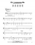 Oh, Lonesome Me Sheet Music
