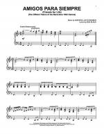 Amigos Para Siempre (Friends For Life) Sheet Music