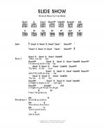 Slide Show Sheet Music
