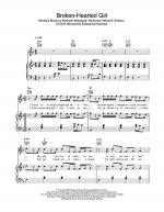 Broken-Hearted Girl Sheet Music