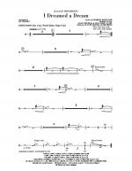 I Dreamed A Dream - Percussion Sheet Music