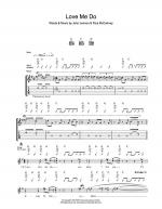 Love Me Do Sheet Music
