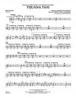 Tijuana Taxi - Percussion Sheet Music