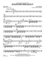 Zoosters Breakout (from Madagascar) - Percussion Sheet Music