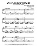 Whistle Down The Wind Sheet Music