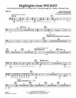 Highlights from Wicked - Timpani Sheet Music