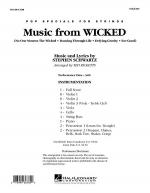 Music from Wicked - Full Score Sheet Music