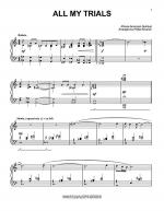 All My Trials Sheet Music