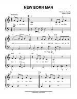 New Born Man Sheet Music