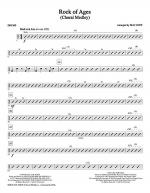 Rock Of Ages (Choral Medley) - Drums Sheet Music