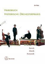 Handbuch historische Orchesterpraxis Sheet Music