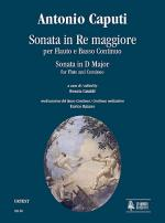 Sonata in D Major Sheet Music