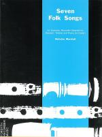Seven Folk Songs - guitar part Sheet Music