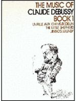 Book 1 Music of Debussy Sheet Music
