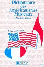 Dictionnaire Des Americanismes Musicaux Sheet Music