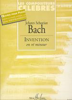 Invention Re Mineur Sheet Music