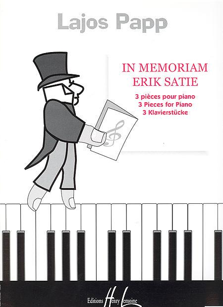 In Memoriam Erik Satie Sheet Music