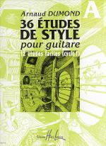 Etudes De Styles (36) - Volume A Sheet Music