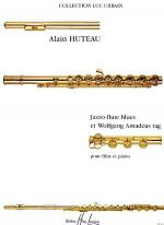 Jazzo-Flute Blues Et Wolfgang Amadeus Rag Sheet Music