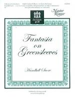 Fantasia on Greensleeves - Handbell Score Sheet Music