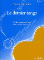 Le Dernier Tango Op. 73-5 Sheet Music