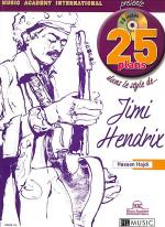 25 Plans Dans Le Style De - Jimi Hendrix Sheet Music
